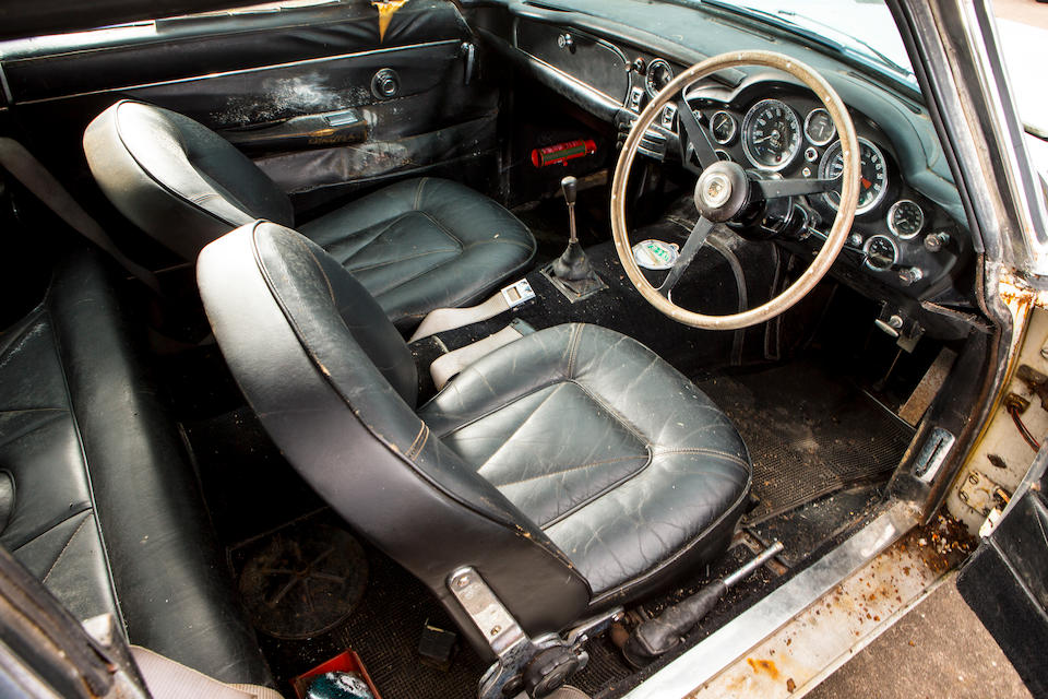 1967 Aston Martin DB6 Vantage Sports Saloon Barn Find Chassis no. DB6/2489/R Engine no. 400/2516/V