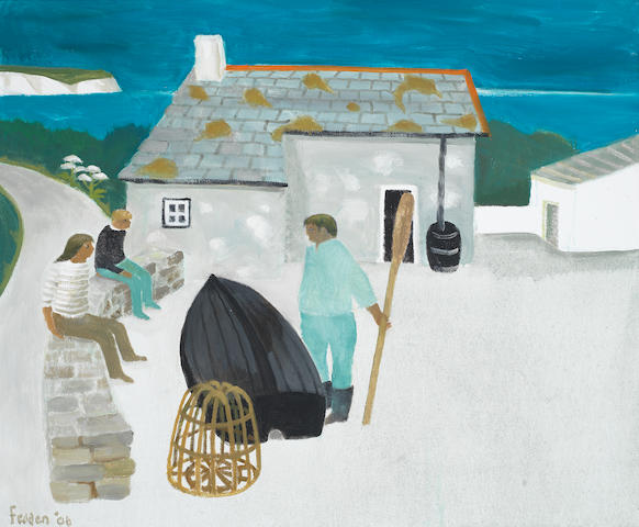 Mary Fedden R.A. (British, 1915-2012) Prisoner's Cove, Cork