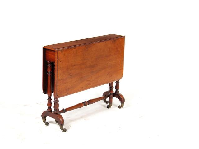 A large mid-Victorian mahogany Sutherland table