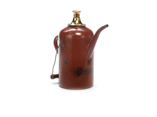 An unusual 3-litre priming tap kettle, circa 1900,