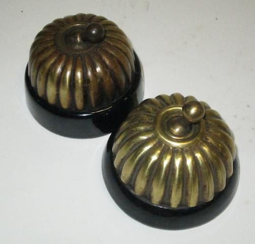 Two 'Jelly Mould' veteran ignition switches,