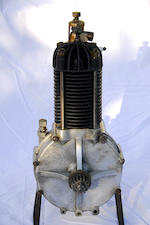 A single cylinder de Dion Bouton engine number 15235, circa 1899-1900,