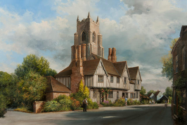 Clive Madgwick (British, 1934-2005) Stoke by Nayland