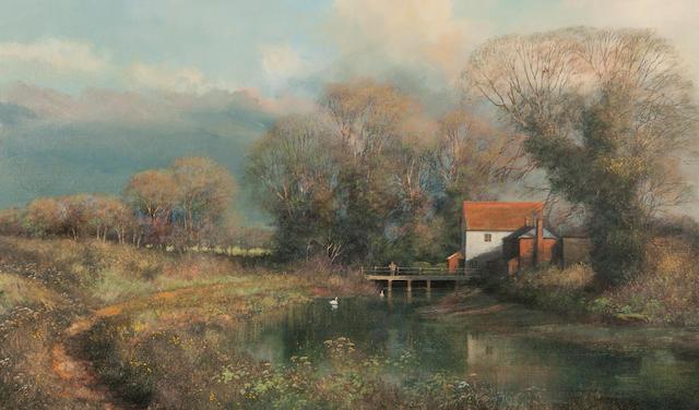Clive Madgwick (British, 1934-2005) 'Spring sunshine' 'Spring sunshine'