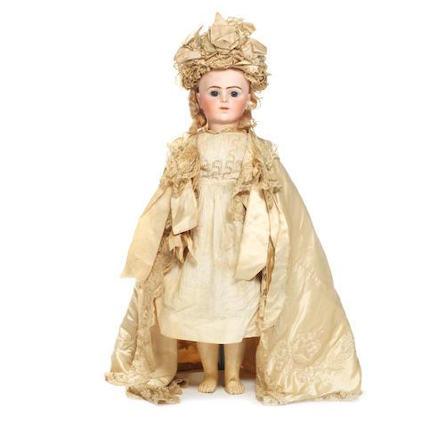 Bru Jne R bisque head Bebe, size 12, circa 1880