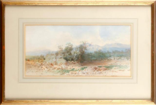 Circle of Richard Redgrave (British, 1804-1888) Heath landscape
