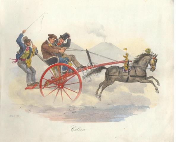 COSTUME - NAPLES [DURA (GAETANO) Scenes populaires 1840, 1833-1851]