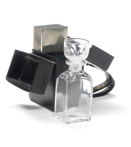 A Veteran cased travelling drinks set, by Mappin & Webb,