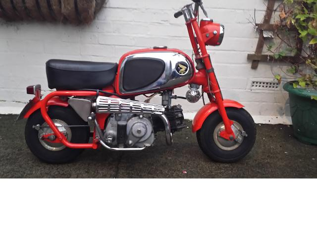 In the current ownership since 1966,1966 Honda 50cc CZ100 'Monkey Bike' Frame no. to be advised Engine no. 63994