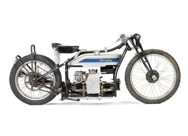 c.1925 Douglas 494cc Model RA Engine no. EL361 Gearbox no. MG105