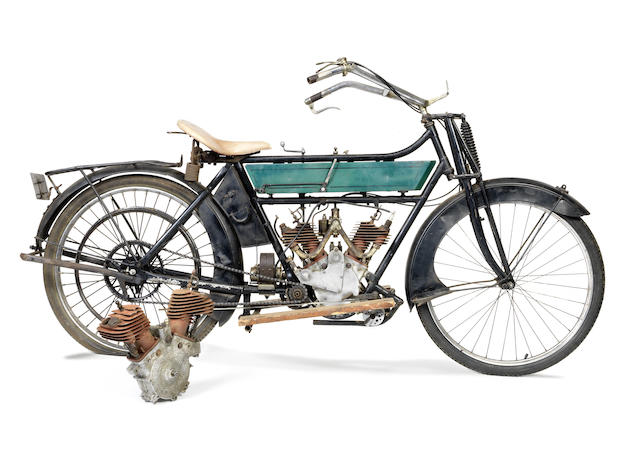 1912 Royal Enfield 2¾hp Twin Frame no. 3813 Engine no. 2CIV2693