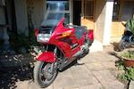 Property of a deceased's estate,1990 Honda ST1100-L Pan European Frame no. 2004165 Engine no. 2004669