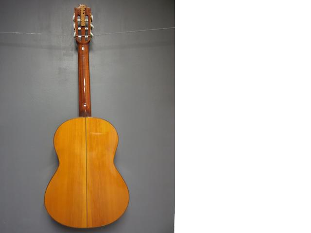 A Guitar attributed to M. Pena, Granada, 1971 (2)