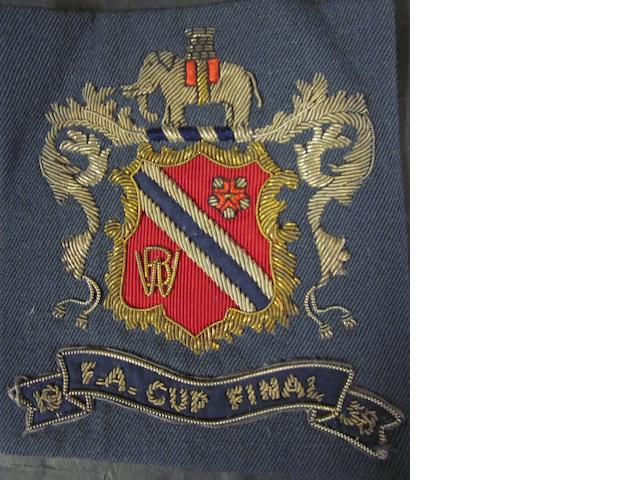 1958 F.A. cup final blazer badge