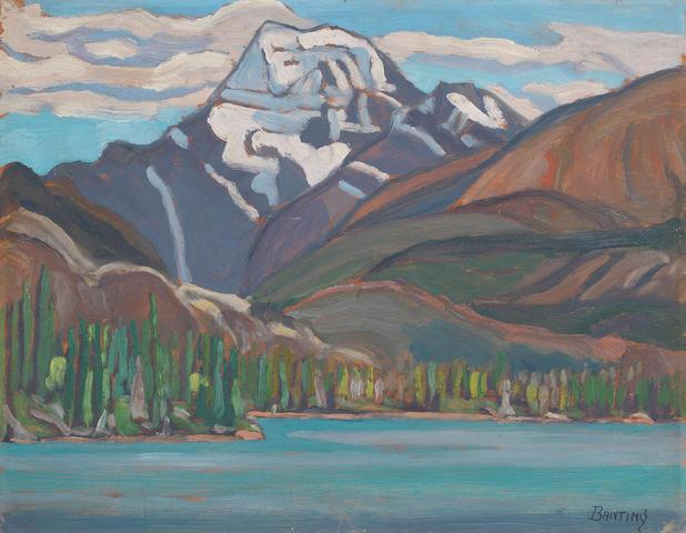 Sir Frederick Grant Banting (Canadian, 1891-1941) Canadian Rockies, Alberta