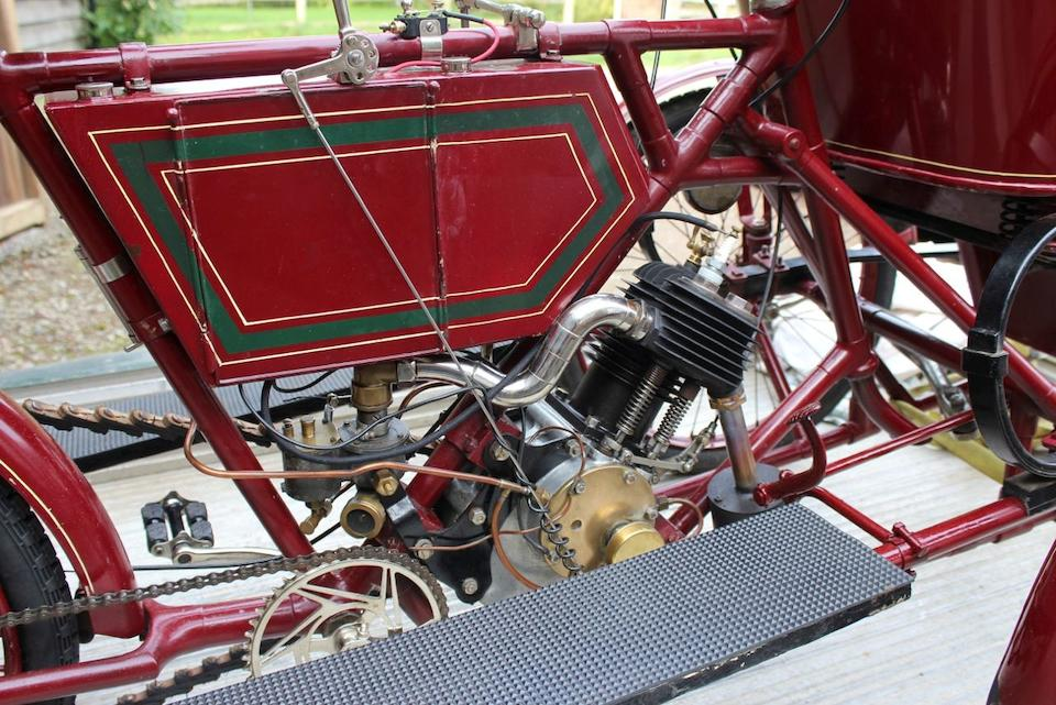 Current family ownership since 1962,1903 Riley 3½hp Forecar  Engine no. 11