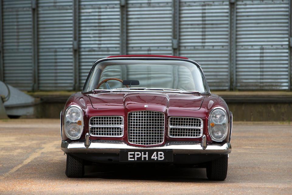 Ex-Ringo Starr, Earls Court Motor Show,1964 Facel Vega II Coupé  Chassis no. HK2B 160 Engine no. 277614