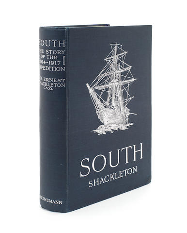 SHACKLETON (ERNEST HENRY) South. The Story of Shackleton's Last Expedition 1914-1917, FIRST EDITION, William Heinemann, 1919