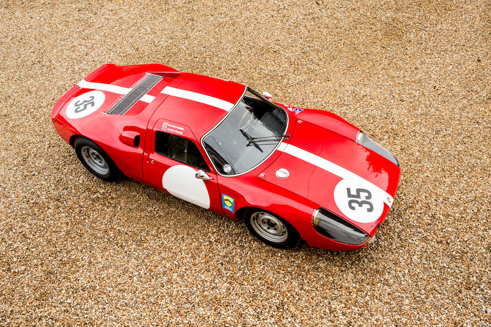 The Ex-Scuderia Filipinetti, Herbie Muller, Andre Knorr,1964 Porsche 904 GTS Endurance Racing Coupe  Chassis no. 904 079 Engine no. 99071 / 99019