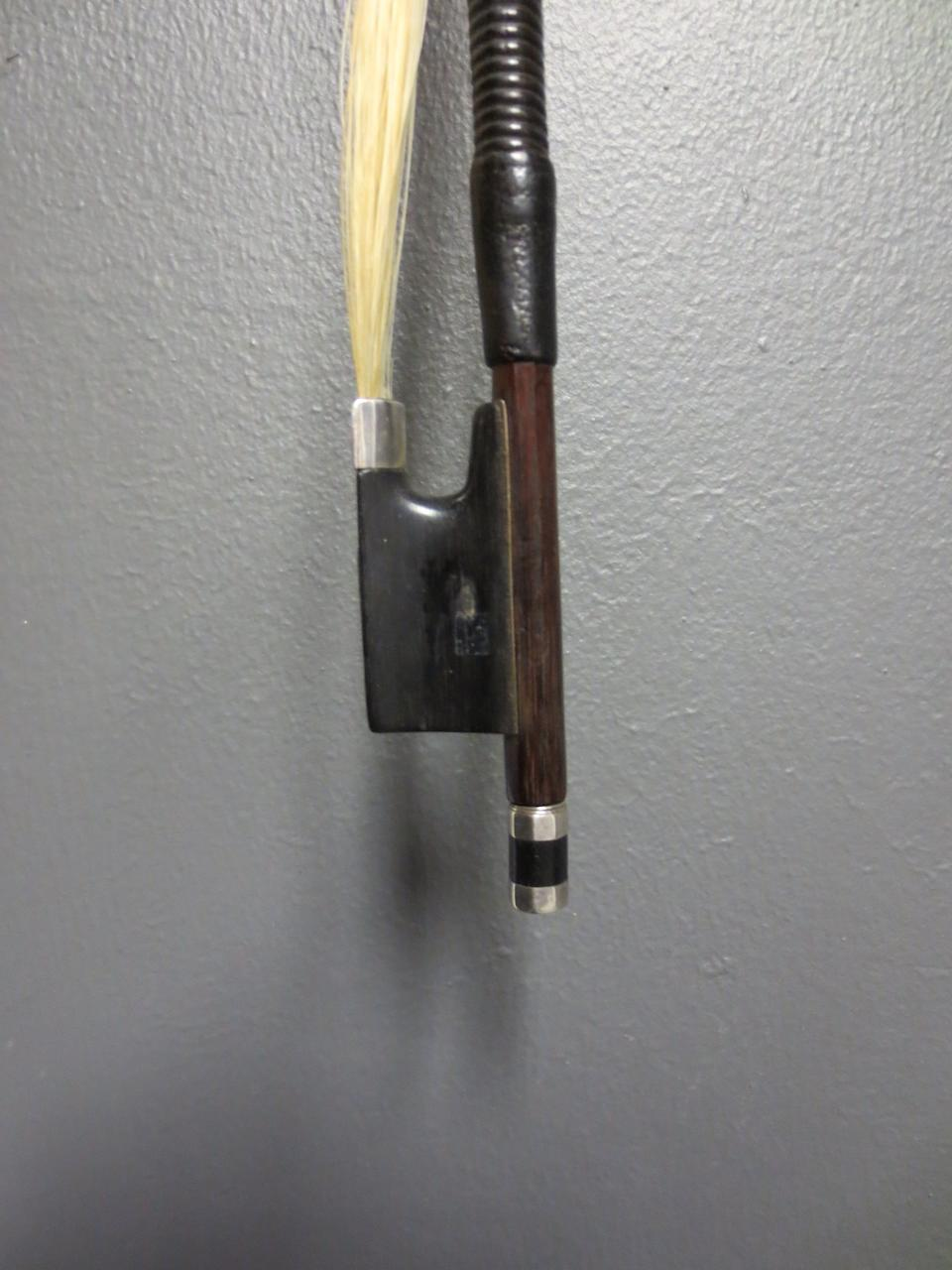A silver mounted Violin Bow (1)