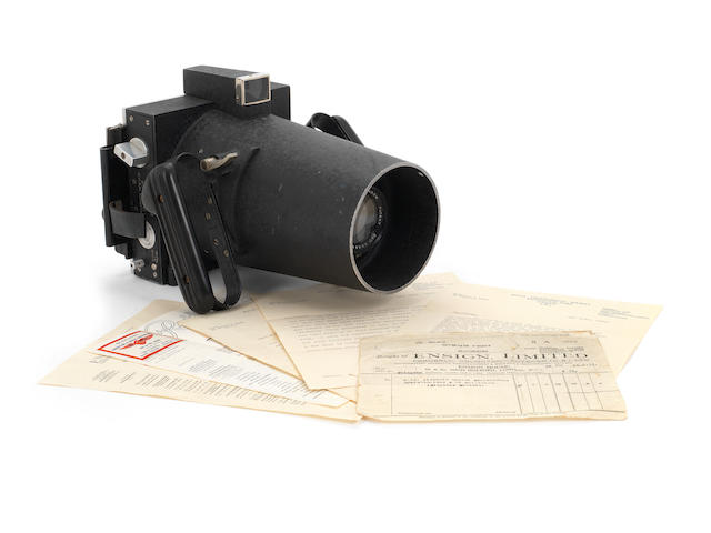 Williamson Manufacturing Company: a New Type P.14 hand held aircraft camera, flown over Mount Everest on the 1933 Houston Expedition