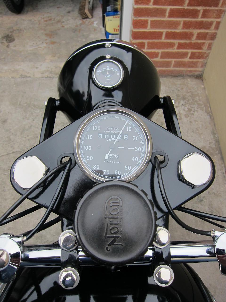 1953/1958 Norton 350cc ES2/Model 50 Frame no. H4 51066 Engine no. 76770 N13