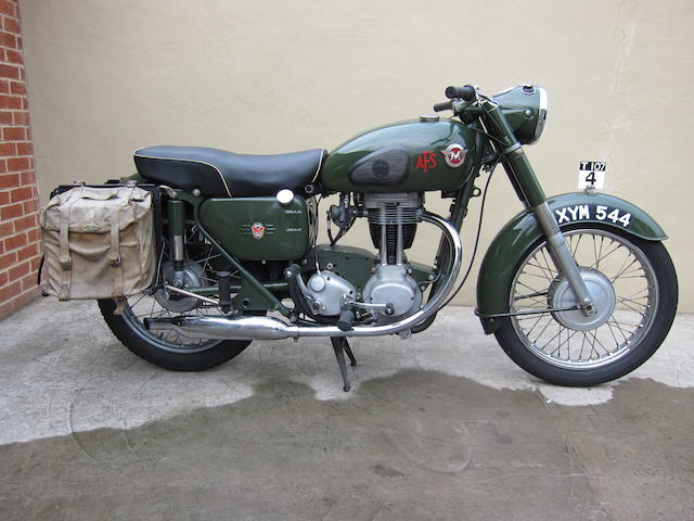1960 Matchless 348cc G3L Frame no. 74190 Engine no. 60/G3 39225