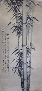 Eight hanging scrolls Qing