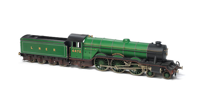 Rare Bassett-Lowke gauge I electric L.N.E.R Flying Scotsman, circa 1934
