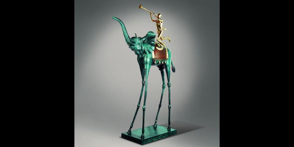 Salvador Dali (Spanish, 1904-1989) Eléphant de triomphe 265cm (104 5/16in) (height)
