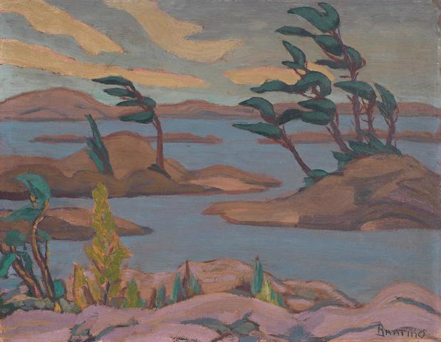 Sir Frederick Grant Banting (Canadian, 1891-1941) Georgian Bay, Ontario