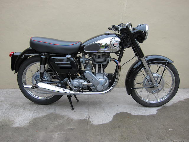1953/1958 Norton 350cc ES2/Model 50 Frame no. H4 51066 Engine no. 76770 N13
