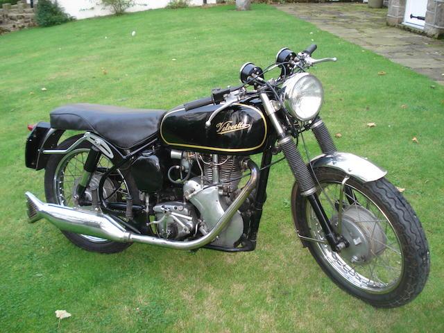 1962 Velocette 499cc Venom Frame no. RS14913 Engine no. VM4315