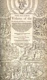 FOXE (JOHN) [The First [-Second] Volume of the Ecclesiasticall History, Contayning the Actes [and] Monumentes of Thinges Passed in Every Kinges Time], 2 vol. in one, 1576