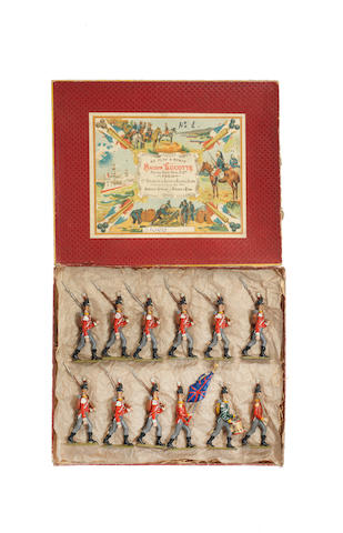 Lucotte Napoleonic First Empire British Infantry 12