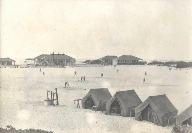 MIDWAY ATOLL and HAWAII Album containing approximately 370 photographs relating to the arrival of the first Pacific telegraph cable at Midway