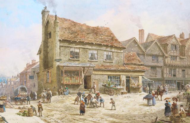 Louise J. Rayner (British, 1832-1924) Ludlow