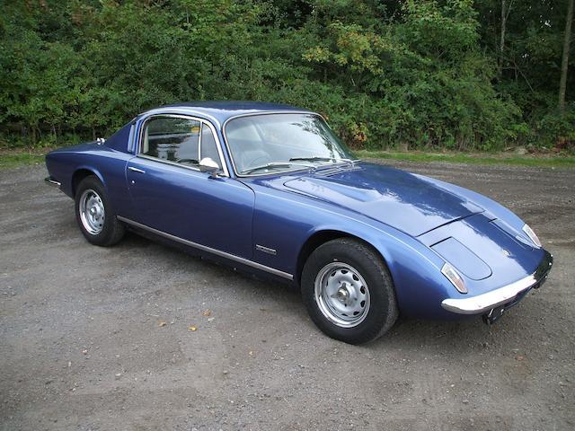 1969 Lotus Elan +2 Coupé  Chassis no. 50/1365 Engine no. M.185.11B