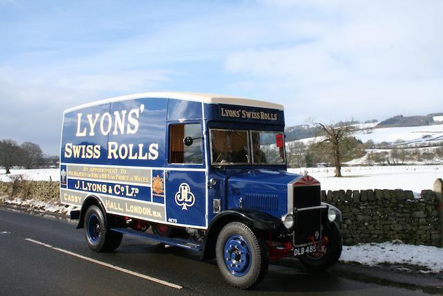 1935 Albion SPL 126 Van  Chassis no. 36013K