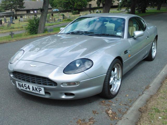 1996 Aston Martin DB7 Coupé  Chassis no. SCFAA11175K100622 Engine no. AM10200704
