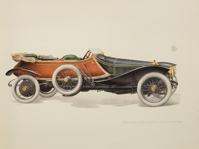 A deluxe Panhard et Levassor showroom catalogue, 1914,