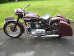 1952 Triumph 498cc Speed Twin Frame no. 28906 Engine no. 5T 28906