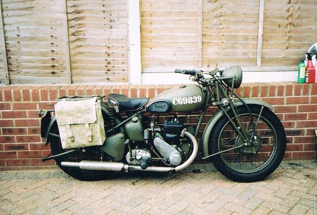 1940 Triumph 350cc 3SW Military Frame no. TL 15686 Engine no. M3537298
