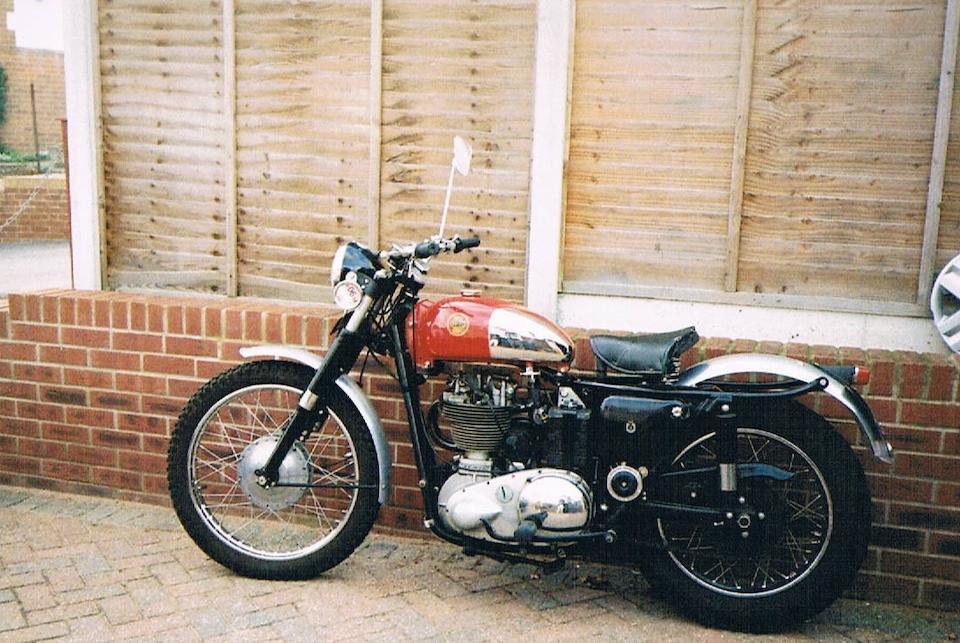 1957 Ariel 350cc NH Red Hunter Trials Special Frame no. 5425 ES 3180 Engine no. KL 1248