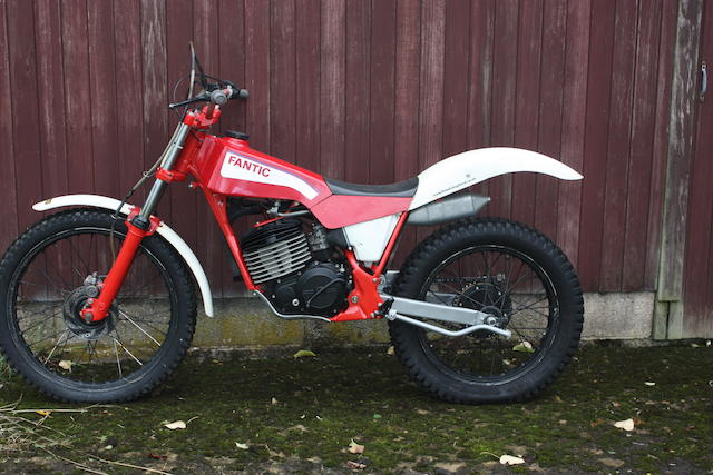c.1987 Fantic 300cc Model 301 Trials Frame no. 403 Engine no. 403
