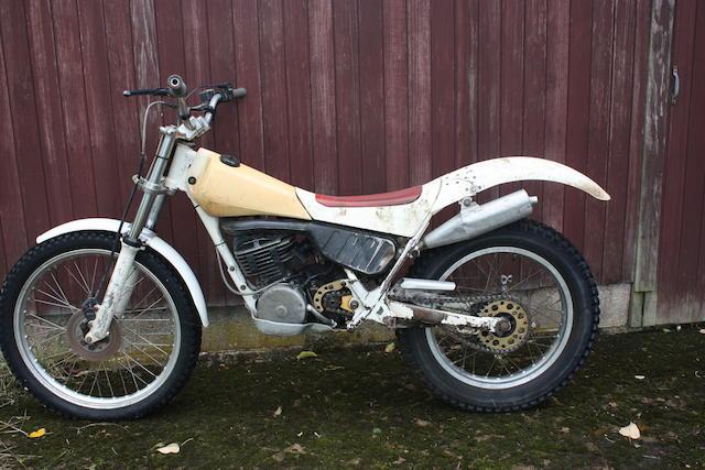 1986 Yamaha 250cc TY250R Monoshock Trials Frame no. 30X Y-1 Engine no. 30X Y-1