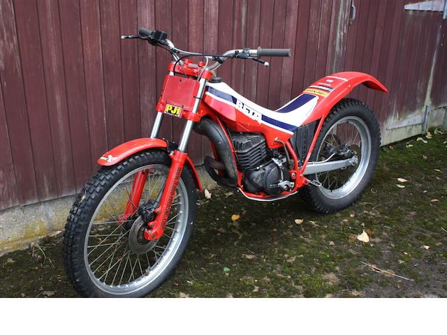 1988 Beta 250cc TR34 Monoshock Trials Frame no. 0007 Engine no. 0007