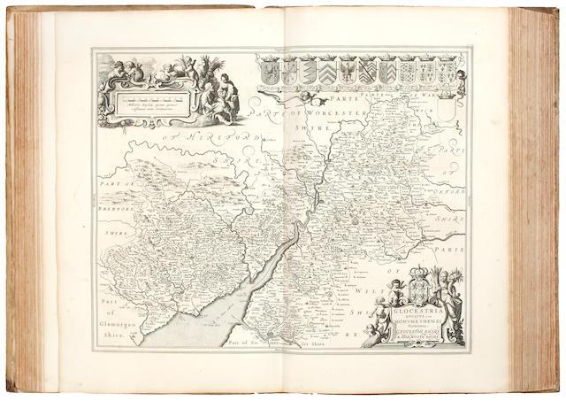 JANSSONIUS (JOANNES) Novus atlas sive theatrum orbis terrarum in quo Magnae Britannia, seu Angliae & Socitae nec non Hiberniae... tomus quartus [Atlas Novus, vol. IV, British Isles], 1659