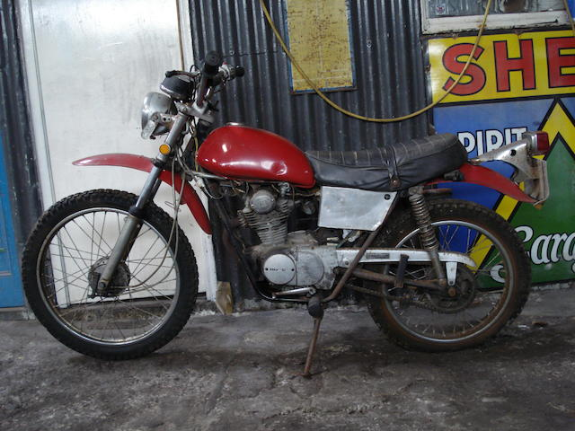 Property of a deceased's estate,c.1973 Honda SL125S Trail Engine no. 1135929