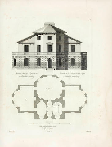 CAMPBELL (COLEN), JOHN WOOLFE and JAMES GANDON Vitruvius Britannicus, vol. 4 and 5 (of 5), 1767-1771